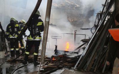 B2/20 Scheunenbrand in Zaina