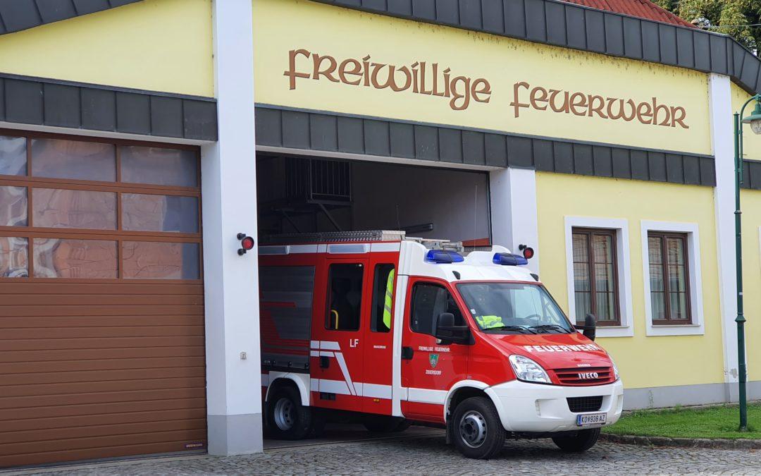 T2/18 Verkehrsunfall B4 Umfahrung Zissersdorf