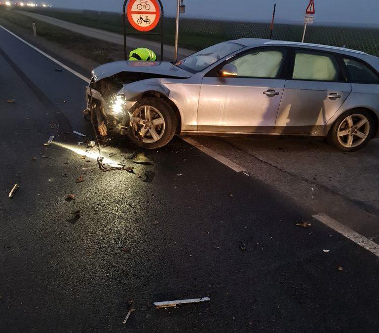 T3/20 Verkehrsunfall B4