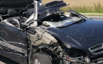 T1 / 2021 Verkehrsunfall auf der B4