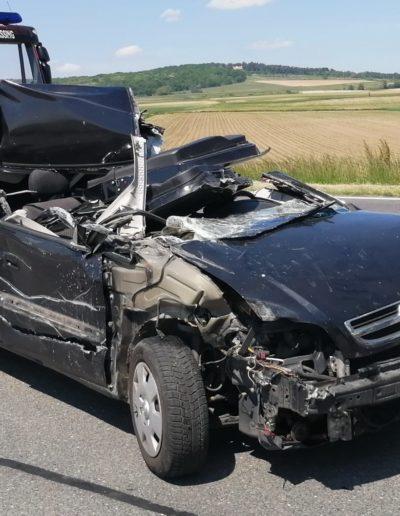 T1 / 2021 Verkehrsunfall
